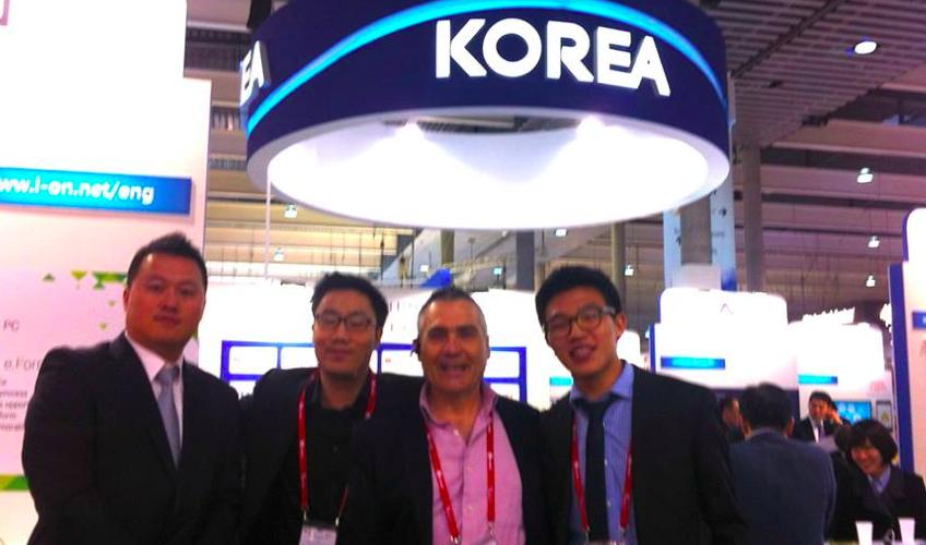 Delegación coreana nos visita en Ibiza